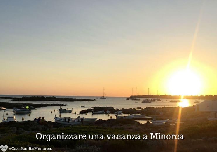 Organizzare una vacanza a Minorca