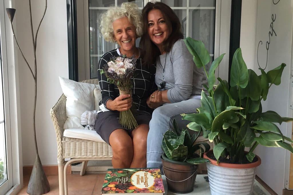Gloria y María, dos periodistas amigas desde mucho tiempo
