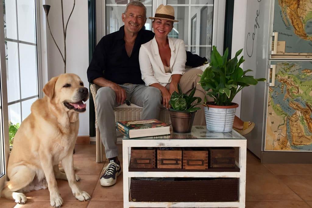 Massimo y Elena, huéspedes de Casa Bonita en 2017