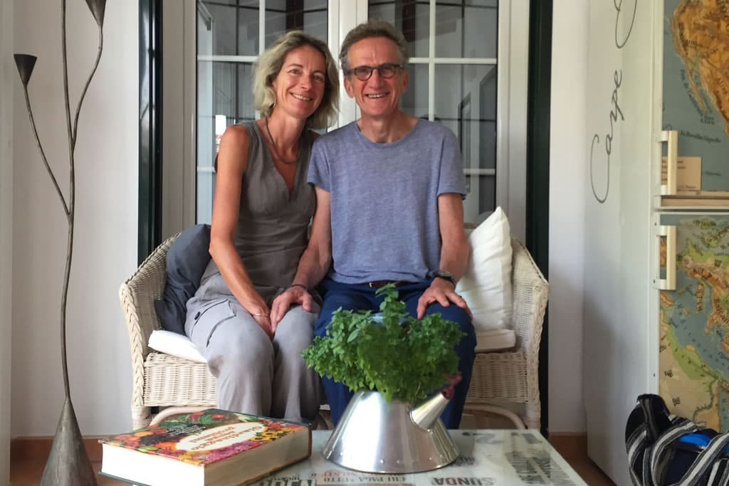 2017, Guests of Casa Bonita Menorca: Sandrine and Thierry