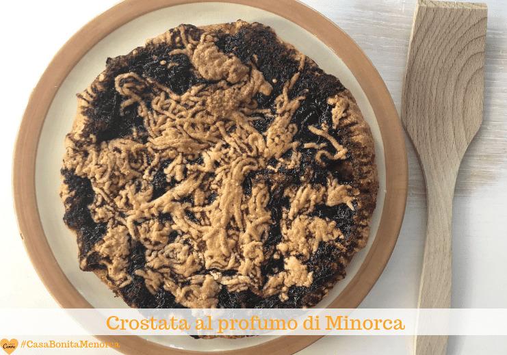 Crostata con marmellata ai profumi di Minorca
