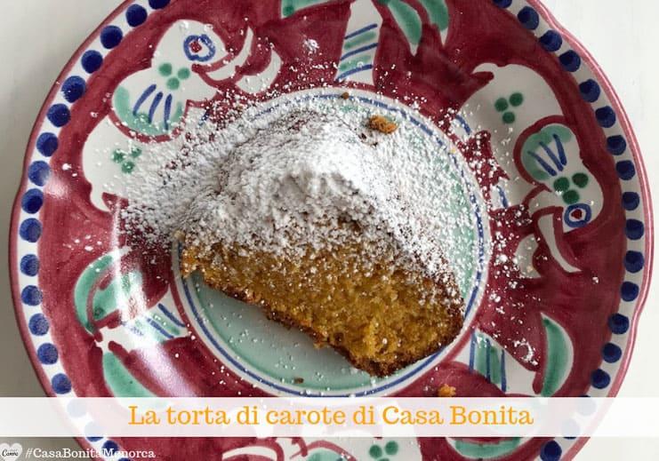 La torta di carote di Casa Bonita ha un solo difetto: finisce troppo presto!