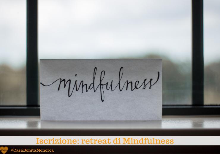 Mindfulness con Giulia Fiorentini a Casa Bonita Menorca
