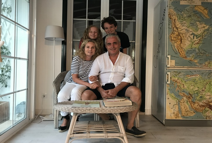 Familia Iberati Mantovani, Casa Bonita Menorca 2018
