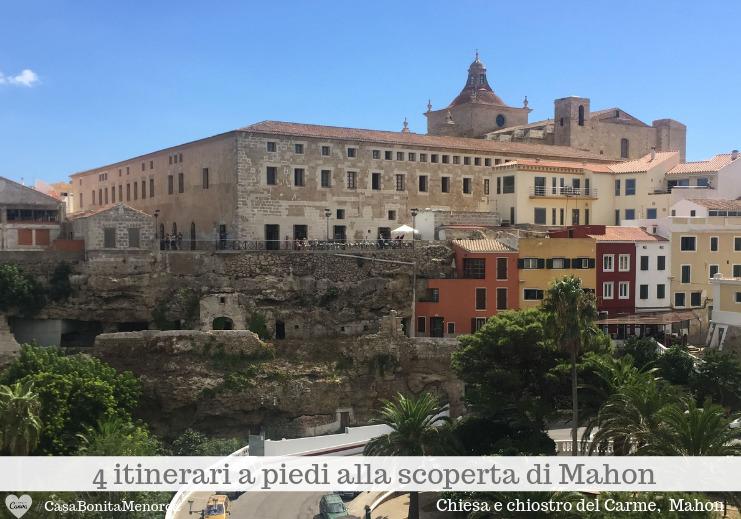 Scorcio del centro storico di Mahon