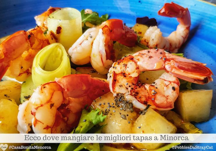 Indirizzi selezionati: dove gustare le migliori tapas a Minorca