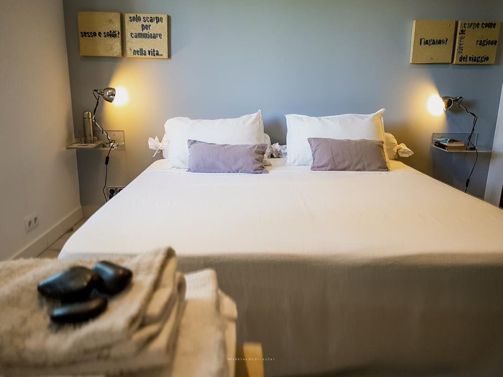 Confucio en la versión de habitación con cama King Size