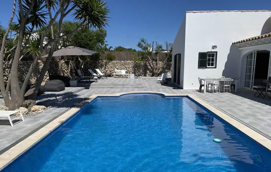 piscina de sal casa bonita menorca
