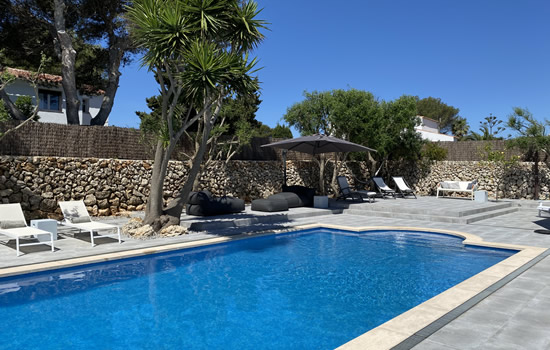 Casa Bonita has a salt water pool