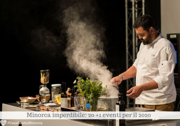Fira Arrels è chef, show cooking, degustazioni, mercato, laboratori per bambini.