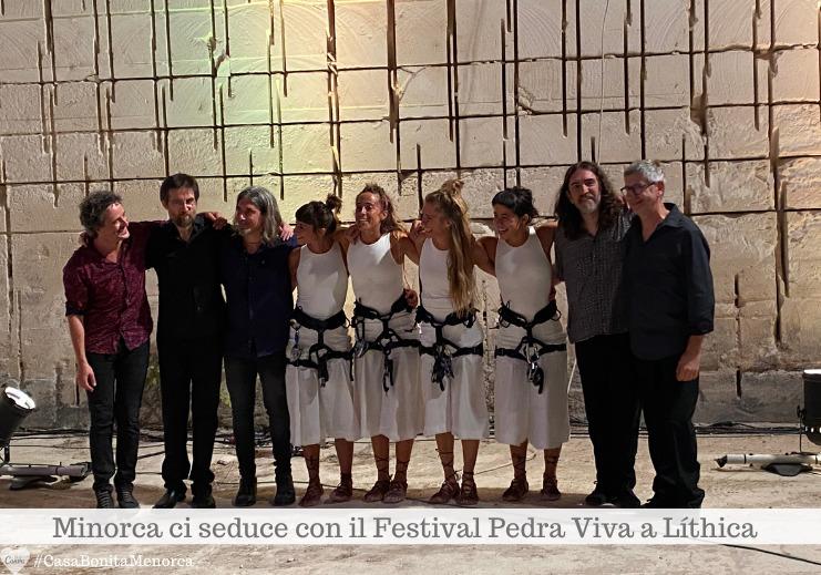 """I protagonisti di """"Harri Herria"""", spettacolo di musica basca e danza acrobatica"""