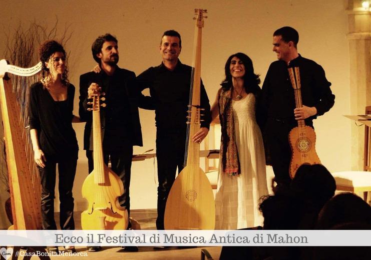 Il Festival di Musica Antica di Mahon è giunto alla sua VIII edizione