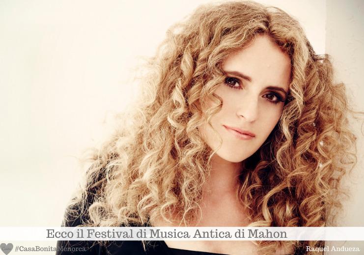 Il soprano spagnolo Raquel Andueza canta domenica 8 novembre alle 19.