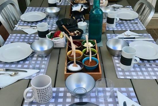 Casa Bonita Menorca prima colazione