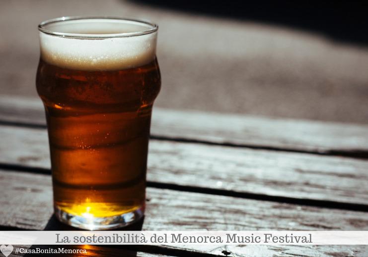 Anche la birra è una delle indiscusse protagoniste del Menorca Music Festival
