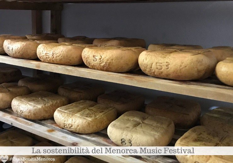 Una delle specialità protagoniste del Menorca Music Festival è il formaggio