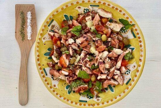 octupus salad casa bonita menorca
