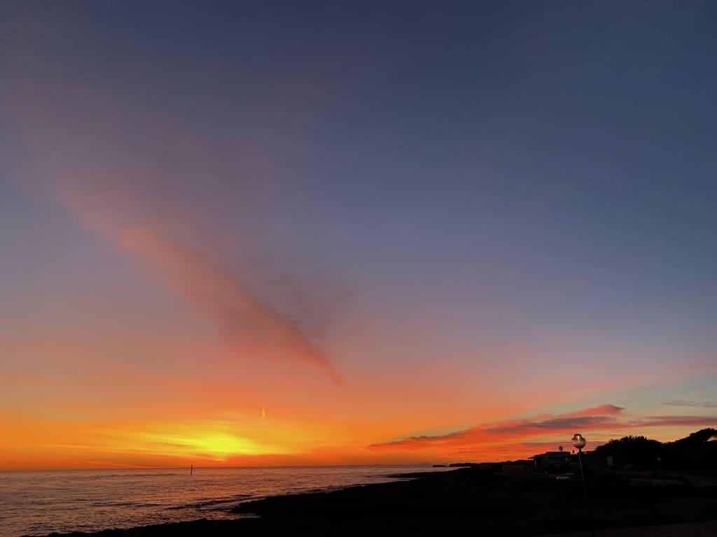 Binimares Sunset dal terrazzo