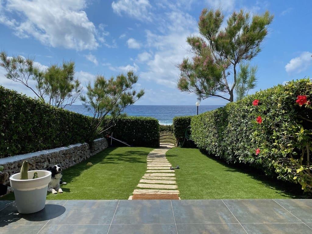 casa con vistas al mar menorca