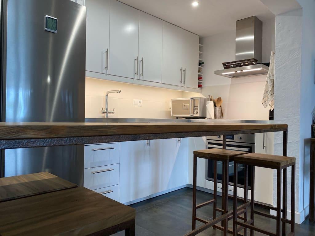 Binimares cocina casa vacacional menorca