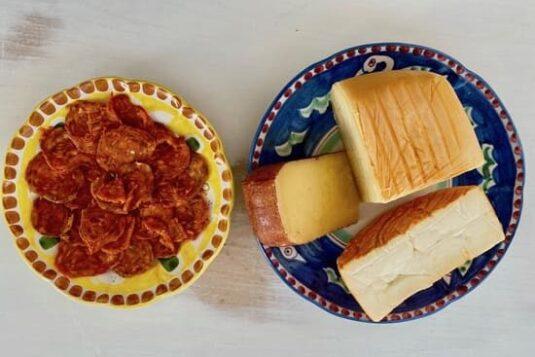 sobrasada and traditional Menorcan cheeses