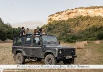 Perché scoprire Minorca con Jeep Safari Menorca