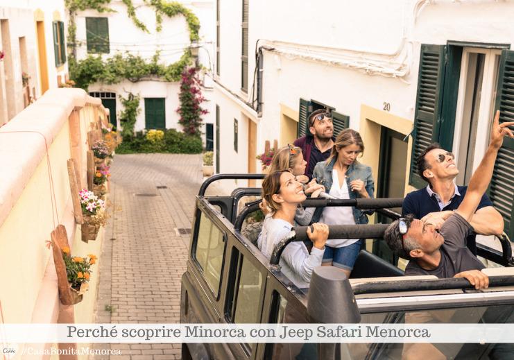 Con Jeep Safari Menorca si va alla scoperta della Minorca più autentica