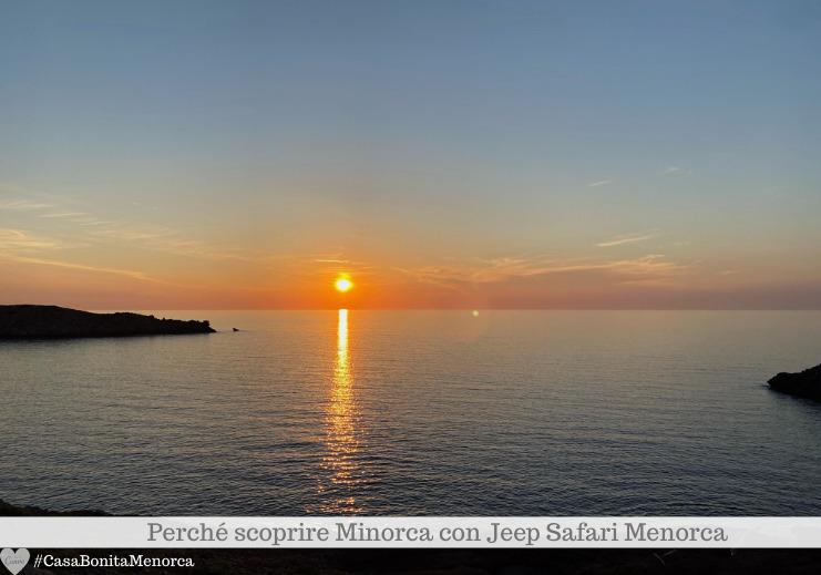 Sunset Experience by Jeep Safari Menorca: tramonto a Cavalleria